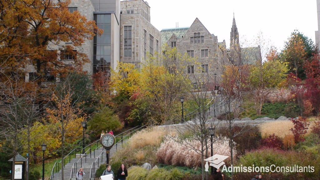Boston College admission