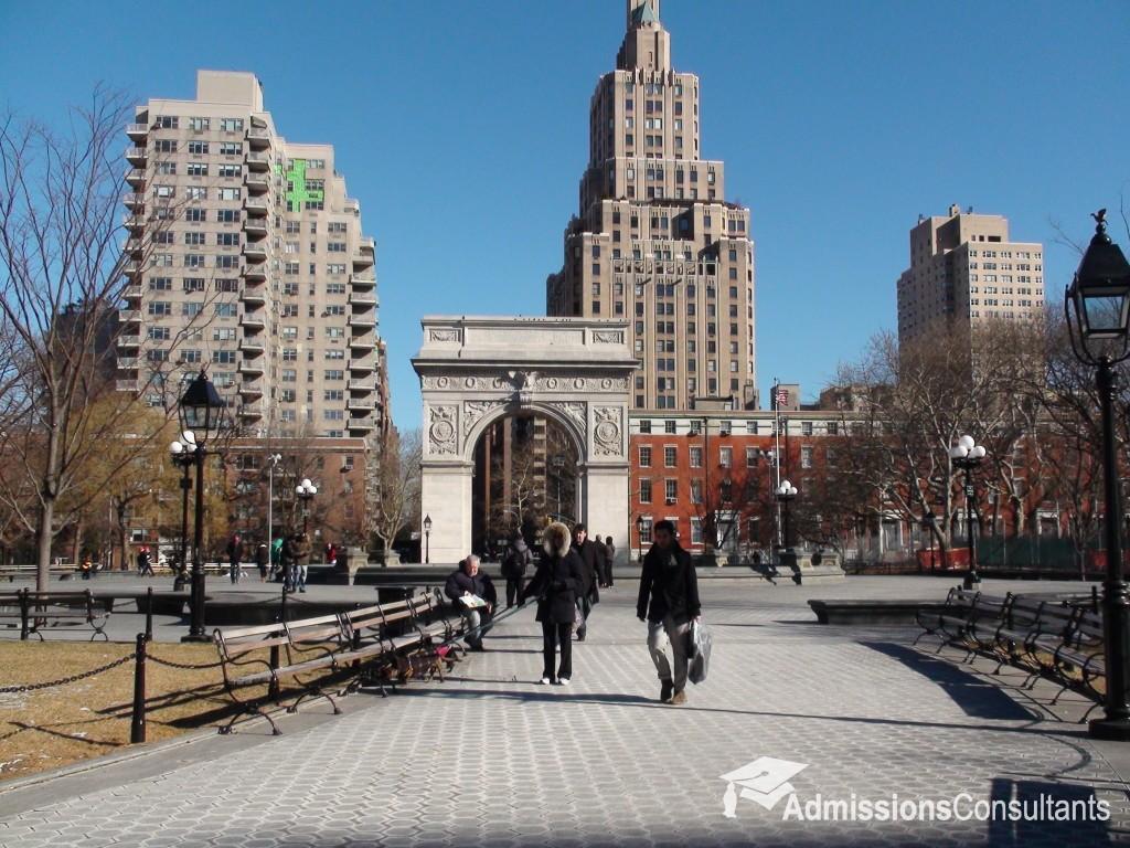 NYU admission
